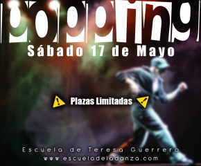 WORKSHOP POPPING con NAKEM 17 de Mayo
