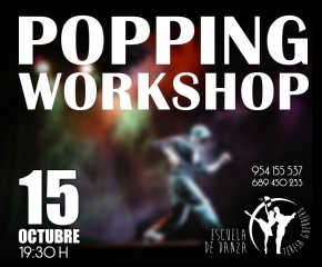 Workshop Popping 15 octubre 2015